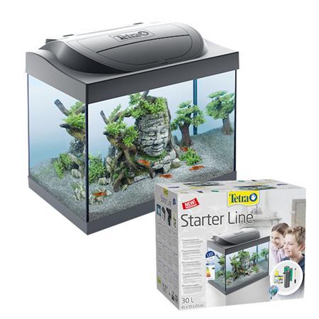 Acquario tetra startline in vetro completo di filtro pompa for Acquario completo prezzi